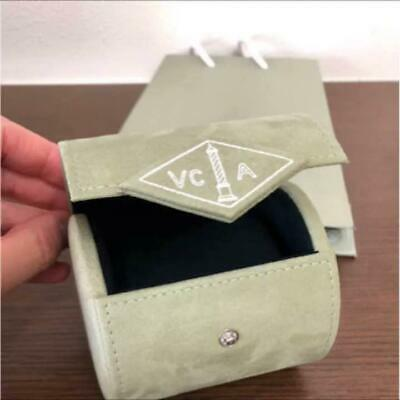 Van Cleef & Arpels Watch Jewelry Travel Pouch Box Case Empty Genuine for sale  Shipping to Canada