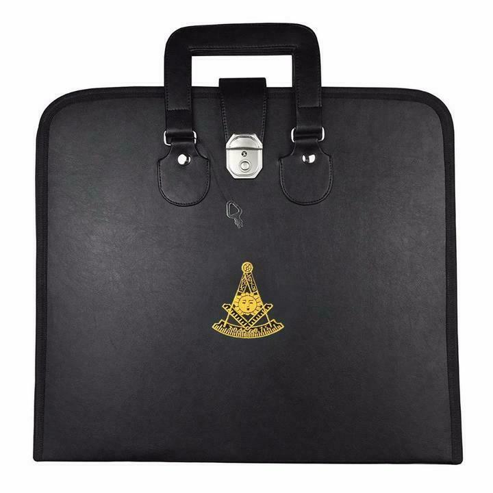 Masonic MM/WM and Provincial Full Dress Apron Past Master Cases
