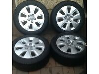 AUDI ALLOY WHEELS 16""
