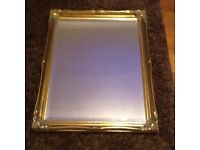 Solid Coloured Gold Edged Mirror