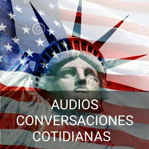 Curso Mp3 Conversaciones En Ingles Y Español, Diferentes Escenarios En Audio
