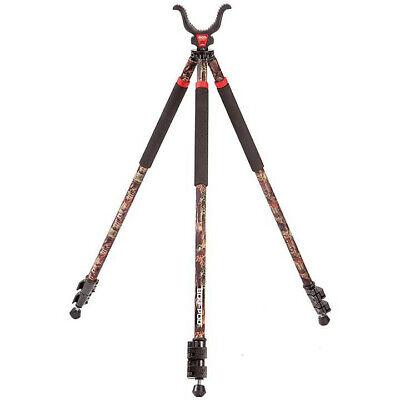 Bog-Pod Camo Legged Devil CLD-3 TALL Shooting Stick Hunting Tripod Rifle Support