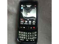 Blackberry torch slide Vodafone with charger and SIM card