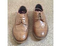 Next Boys Brogue Shoes Size 3