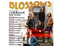 ***FACE VALUE*** 4 x Blossoms standing tickets o2 Glasgow Academy Saturday 1st April