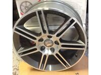 "Seat Leon NEW GENUINE OE 18"" Anthracite Alloy Wheels BBS 5P8 071 490"