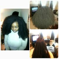 CROCHET BRAID and WIG, WEAVE, AND LACE FRONT WIG!!