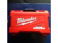 Milwaukee drill bit set