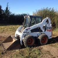 skid steer services/ excavation / demolition