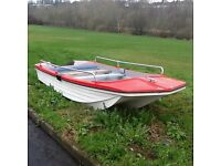 DORRY TYPE BOAT great for fishing lakes or around the coast.