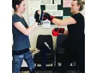 Just get involved boxercise classes