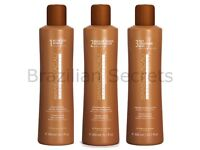 Keratin kit hair radiantly smooth and frizz-free for 3 months.