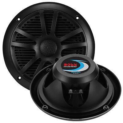 BOSS AUDIO mr6b Marine Lautsprecher schwarz 16.5cm Dual Kegel (Paar) 180 Watt Boss Audio Boss Marine