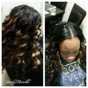 Hair weaving, Crochet && braiding services Edmonton Edmonton Area image 2