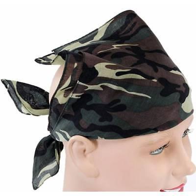 Armee Tarnmuster Kopftuch Militär Commando Kostüm