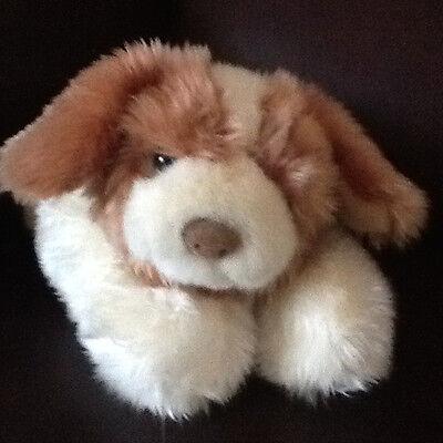 "Vintage First & Main 12"" Sniffles Hound Dog Bean Body New Soft Plush Puppy Dog"