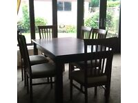 Caxton extending dining table