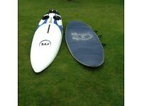Mistral Explosion 315 windsurfing board Vol 160 litre