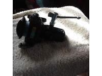 Vintage small fishing spinning reel