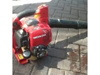 HONDA 4 stroke blower bargain, delivered locally