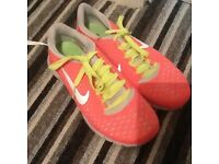 Nike running shoes size 3 never worn