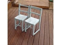 Two children's nursery chairs for sale