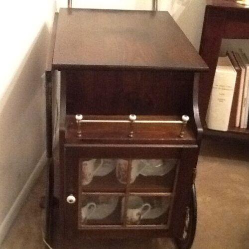 Vintage tea cart wooden