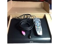 Sky plus hd box excellent working condition with remote and accessories