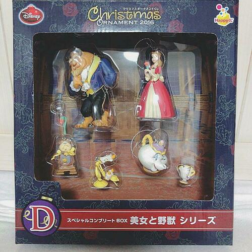 Disney Christmas ornament Special Complete BOX Ichibankuji  Beauty and the Beast