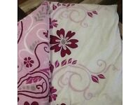 10.5 Single quilt cover with cover.