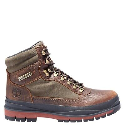 NIB Mens Timberland Field Trekker Waterproof Insulated Boots A1X6W V12 Brown Timberland Mens Field Boot