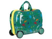 Star Wheelie Case Kids Design Ride On Wheelie Case Travel Bag