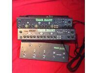 3 x Trace Elliot machines
