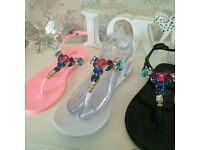 Summer sandals from size 1 upwards