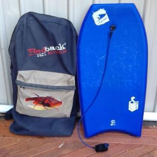 Manta Boogie Board and carry bag