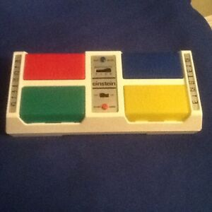Vintage 1979 Einstein Electronic Memory Game Battery Operated
