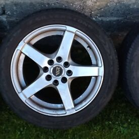 MX5 15 inch wheels with good tyres