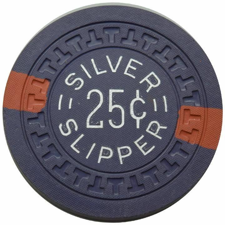 Silver Slipper Casino Las Vegas NV 25 Cent Chip 1950s
