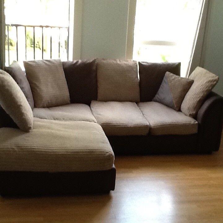 (SOLD )Corner Sofa (washable covers)