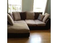 (SOLD )Corner Sofa (washable covers)
