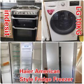 Kitchen Appliances, Fridge, Cooker, Washing Machine