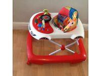 Car baby walker excellent condition