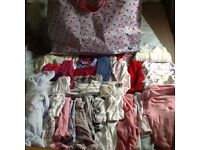 Newborn girls' clothes