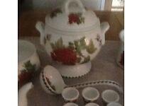 Portmeirion kitchen tableware.