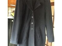 Ladies workwear/ business type jacket navy needs uplifted
