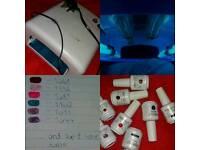 UV Lamp & Gels