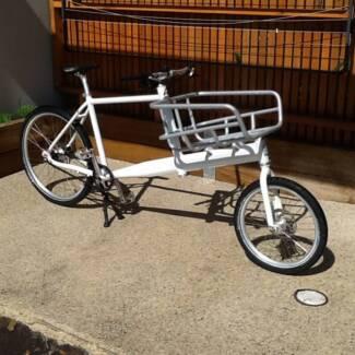 Dutch designed premium cargo bike Williamstown Hobsons Bay Area Preview