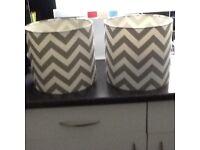 Chevron lampshades