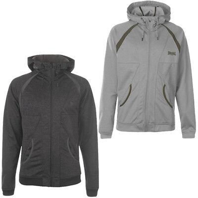 Lonsdale Poly Herren Kapuzen Zipper Sweatshirt S M L XL XL 2XL Hoodie Pullover  Zipper Hoodie Sweatshirt