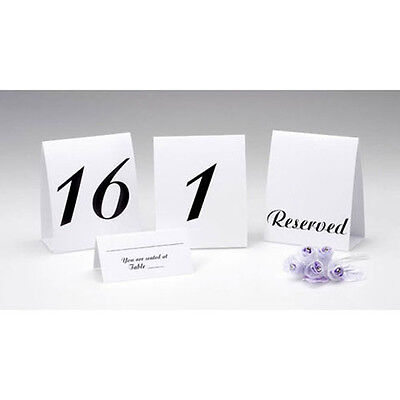 Table Cards For Weddings (TENT STYLE TABLE NUMBER CARDS FROM 1 TO 30 FOR WEDDING/PARTY BY VICTORIA)